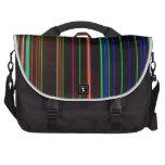 Rayas del color bolsas de portatil