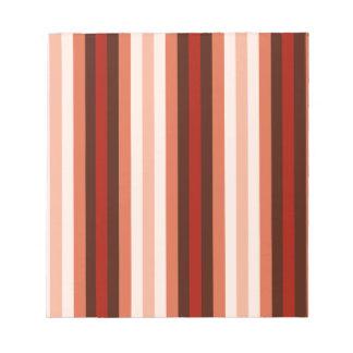 Rayas del color del nativo americano - 1 blocs de notas