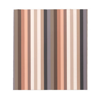 Rayas del color del nativo americano - 6 blocs de papel