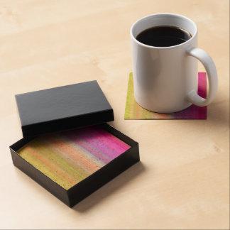 Rayas del espectro de color posavasos