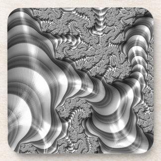 Rayas del fractal de BW Posavasos
