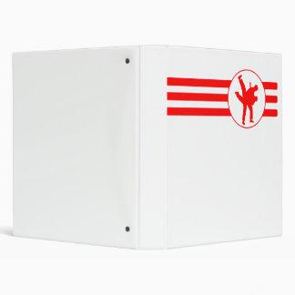 Rayas del karate (rojas)