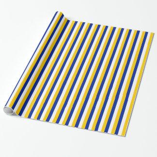Rayas del Libro Blanco amarillo, azul y
