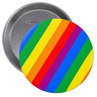 Rayas del orgullo gay pins