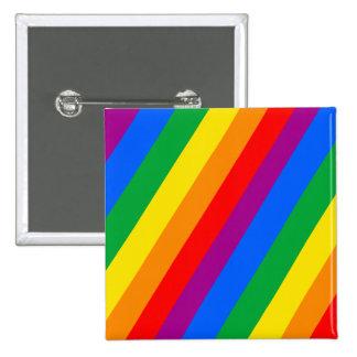 Rayas del orgullo gay pin