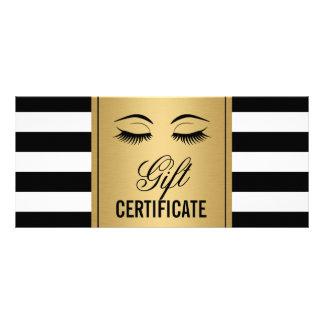 Rayas del oro B&W del vale del maquillaje de las Lonas Publicitarias