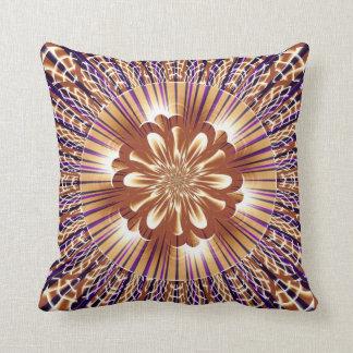 Rayas del oro con la almohada de MoJo del american