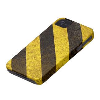 Rayas del peligro funda para iPhone 4 de Case-Mate