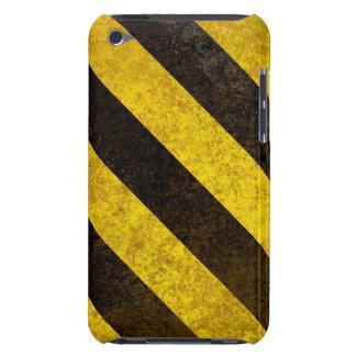 Rayas del peligro funda para iPod de barely there