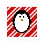 Rayas del pingüino postal