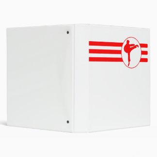 Rayas del retroceso del karate (rojas)