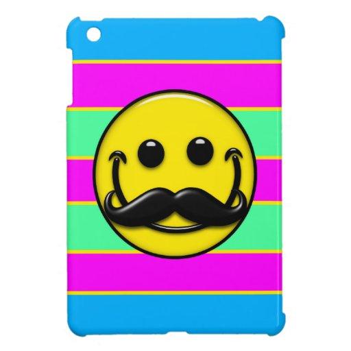 Rayas del smiley del bigote