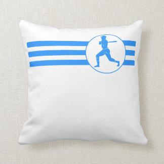 Rayas del talud del béisbol (azules) cojines