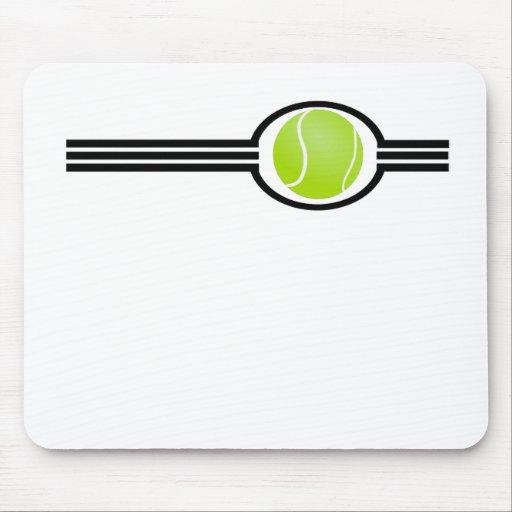 Rayas del tenis alfombrilla de ratones