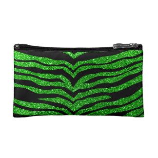 Rayas del tigre del brillo de la verde lima