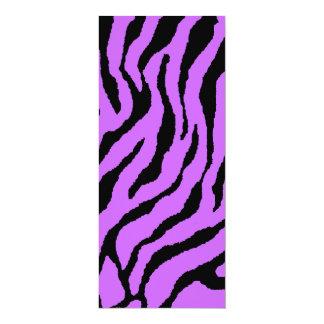Rayas del tigre del tigre 80s de Corey (púrpuras) Invitacion Personal