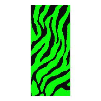 Rayas del tigre del tigre 80s de Corey (verde) Comunicados