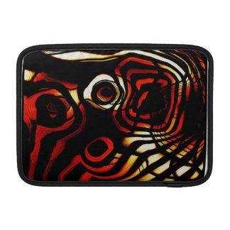 Rayas del tigre funda para macbook air