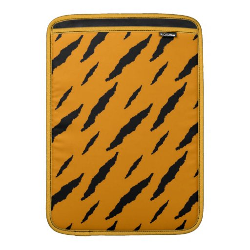Rayas del tigre fundas MacBook