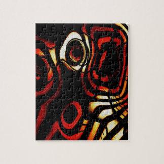Rayas del tigre puzzle con fotos