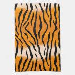 Rayas del tigre toalla