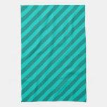 Rayas del trullo toalla de cocina