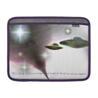 """Rayas del UFO de la luz 13"""" manga de aire de Funda Para Macbook Air"""