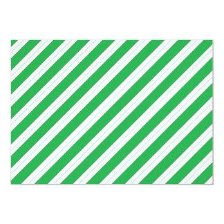 Rayas del verde del bastón de caramelo comunicados
