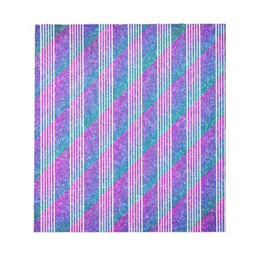 Rayas diagonales femeninas blocs