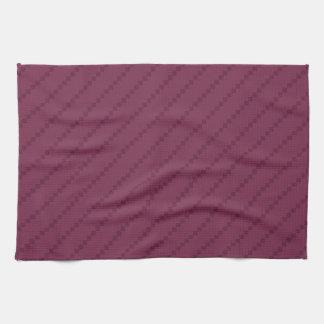 Rayas diagonales púrpuras de Borgoña