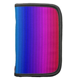 rayas elegantes, arco iris organizador