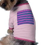 Rayas en colores pastel camisa de perrito