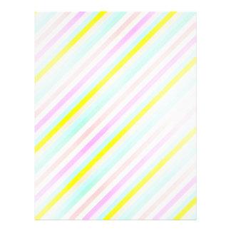 rayas en colores pastel diagonales tarjetones