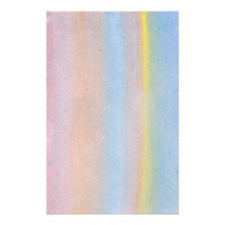 Rayas en colores pastel tarjetón
