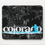 rayas en declive del esquí: Colorado Tapetes De Ratones