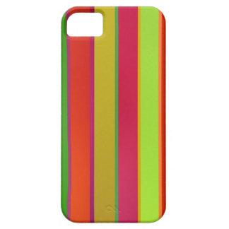 Rayas en los colores latinos iPhone 5 protectores