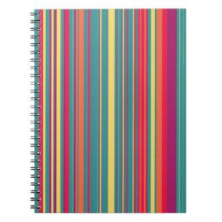 Rayas escarchadas de los sueños cuadernos