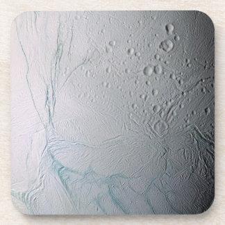 Rayas frescas del tigre en Enceladus Posavasos De Bebidas