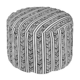 Rayas grises modernas de la raspa de arenque