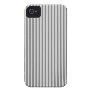 Rayas - grises y grises claras iPhone 4 Case-Mate protector