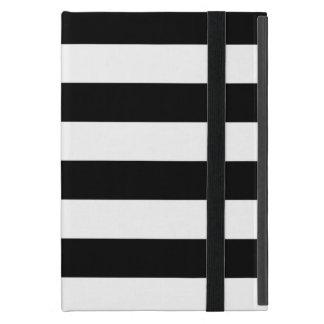 Rayas horizontales blancos y negros elegantes