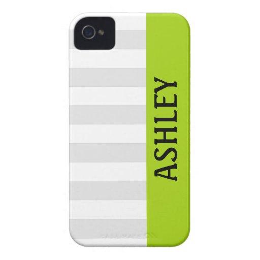 Rayas horizontales grises con el iPhone conocido iPhone 4 Coberturas