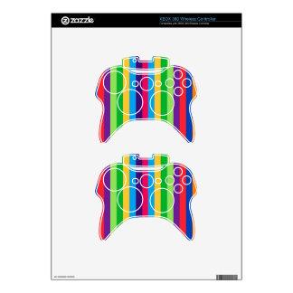 Rayas inalámbricas de la piel w/Fun del regulador  Mando Xbox 360 Calcomanía