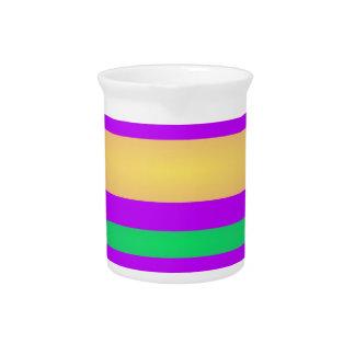 Rayas inocentes jarra para bebida