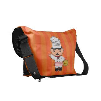 Rayas italianas conocidas personalizadas del naran bolsas de mensajería