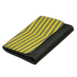 Rayas largas de moda de moda del amarillo del zigz