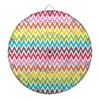 Rayas lindas de Chevron del arco iris