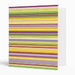 Rayas (líneas paralelas) - verde púrpura anaranjad