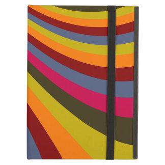 Rayas maravillosas de la diapositiva del arco iris