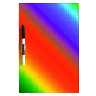 Rayas metálicas del arco iris pizarras